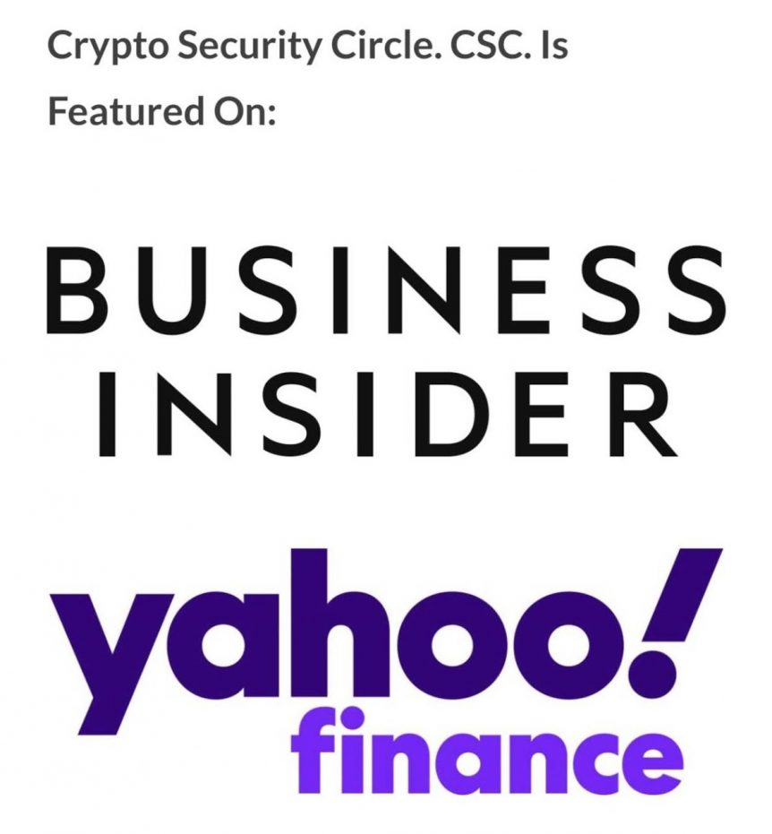 Crypto Security Circle CSC, Business Insider, Yahoo Finance, AP News, Accesswire