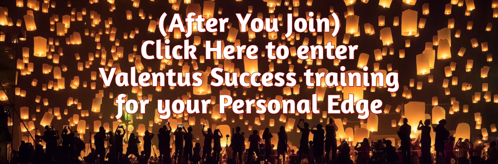 Valentus Success Training for Your Personal Edge