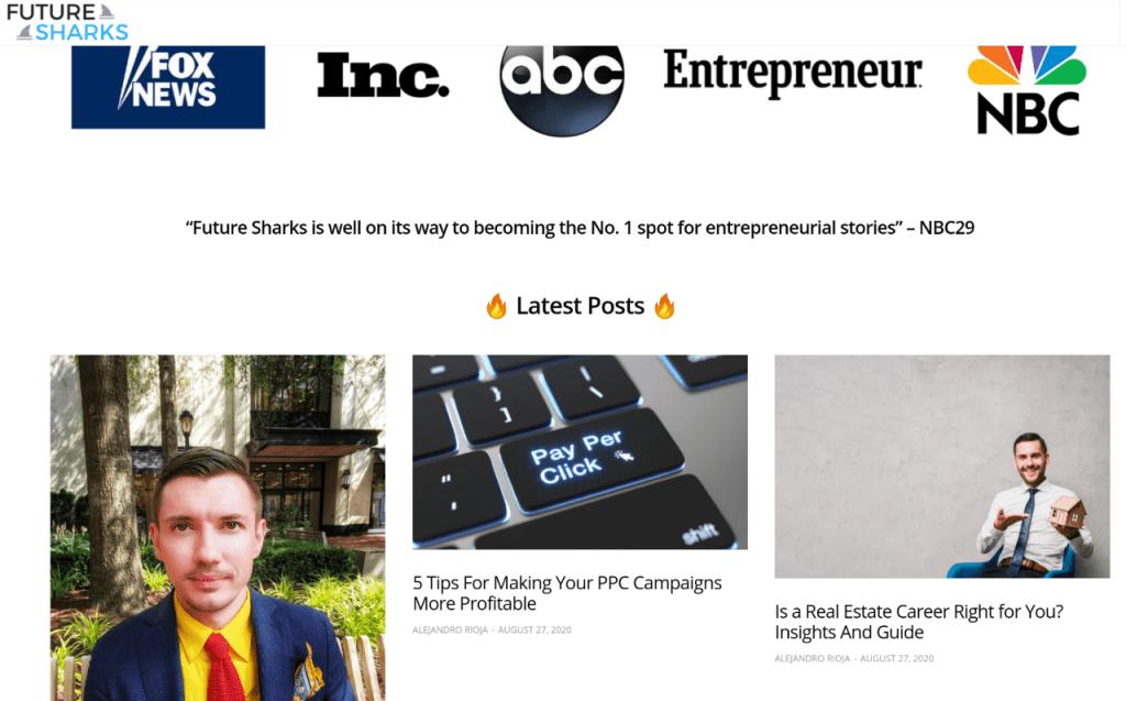 vitaly tennant, fox news, inc., abc, entrepreneur, nbc, future sharks, vitalytennant.com, forbes