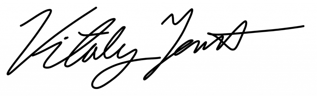 vitaly tennant signature